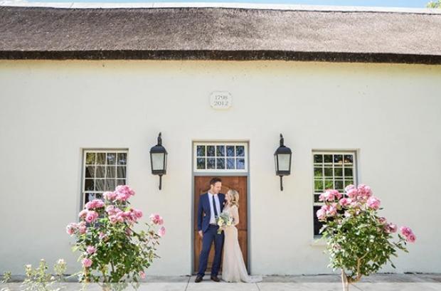 Au D'Hex Wedding Venue Winelands Cape Town Wellington Couple