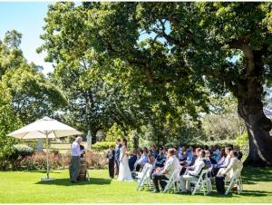 Vredenburg Manor House Garden Ceremony