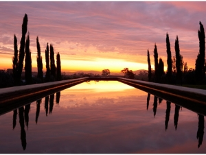 Sunset Hawksmoor House Wedding Venue Stellenbosch