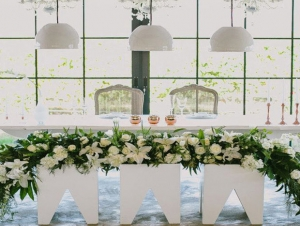 Ex Nihilo Wedding Venue Paarl Couple Table Decor Flowers