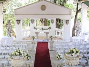 Bergvallei Johannesburg Wedding Venue Ceremony Chapel Outdoors