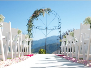 ROCA Restaurant Outdoor Ceremony Franshoek