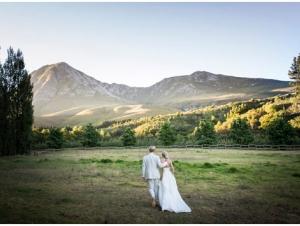 Nidderdale Farm Wedding Venue Couple Shoot Sunset Countryside